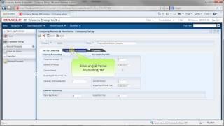 Accessing Company Setup - JDE E1 91 - Financial Management Fundamentals