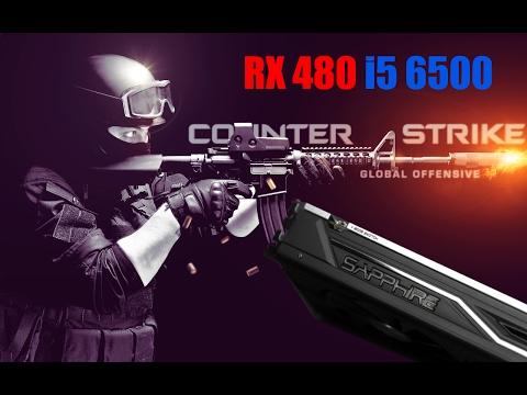 CS : GO | RX 480 | i5 - 6500 | 16 GB DDR4 Performance Gameplay