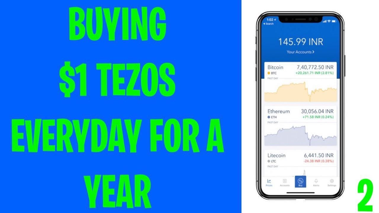 Buying $1 TEZOS Everyday for a Year: Day 2 12