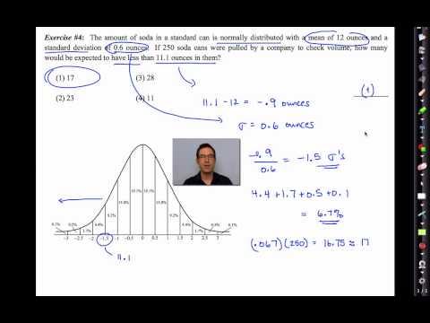 Common Core Algebra II.Unit 13.Lesson 3.The Normal Distribution