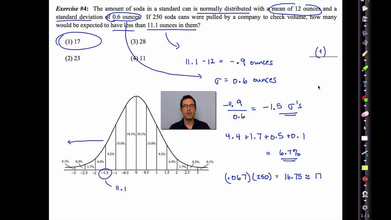Common Core Algebra Ii.unit 13.lesson 3. Normal