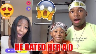 Download My Little Brother Rates Random Girls on the Monkey App *FUNNY* Mp3 and Videos