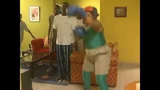 Ngozi Nwosu Turned Boxer by Fuji House of commotion
