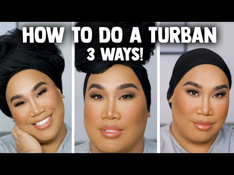 How I Tie my Turban | PatrickStarrr thumbnail