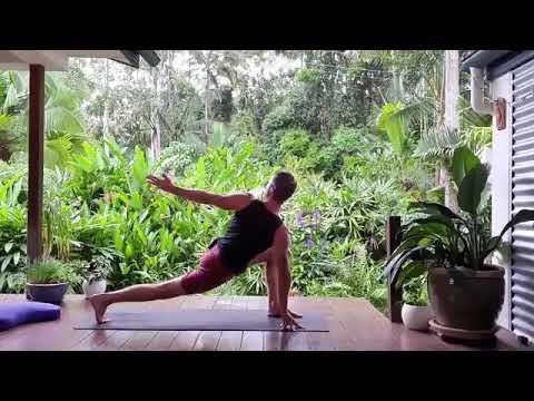 hatha vinyasa yoga  postures to breathwork to meditation