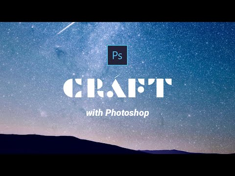 How to use craft in photoshop