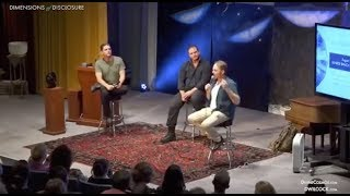 David Wilcock, Corey Goode, & Emery Smith at Dimensions of Disclosure thumbnail