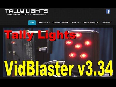 ScaleEngine CDN & Tally Lights in VidBlaster v3.34