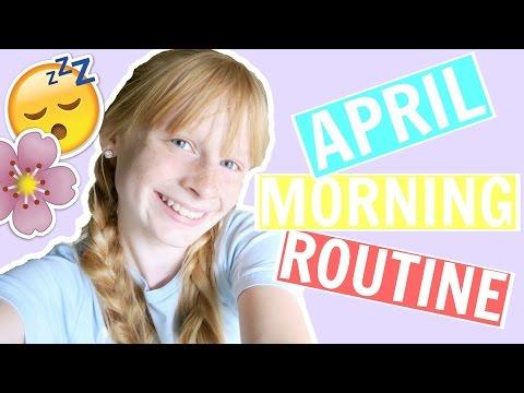 MORNING ROUTINE APRIL 2017  ❤ Mia's Life ❤