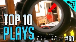 UNREAL HEADSHOTS - Top 10 Rainbow Six Siege Plays of the Week (Bonus Plays 60)