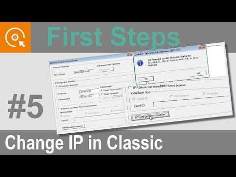 Configuring the IP Address [INSEVIS Video-Tutorials]