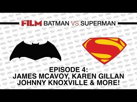 Batman vs Superman: Quentin Tarantino, James McAvoy, Karen Gillan & Johnny Knoxville
