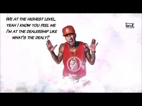 Tyga ft. Kanye West - Feel Me | Lyrics on Screen