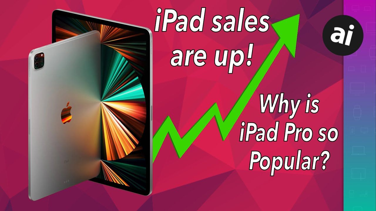 iPad revenue is up, but are sales down because of the M1?