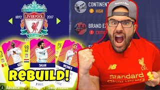 LIVERPOOL REBUILD! INSANE $100,000,000 TRANSFERS! - FIFA 18 Career Mode