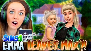 connectYoutube - 💁EMMA FINALLY LEAVES!?😱 (The Sims 4 - BROKEN DREAM #4! 🏚)