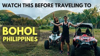 WATCH THIS BEFORE TRAVELING TO BOHOL - THE PHILIPPINES VLOGS