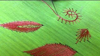 Aari Embroidery Tutorial Blanket Stitch