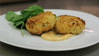 Recipe For Shrimp Crab Cakes : Seafood Dishes