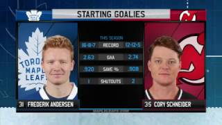 Maple Leafs Game Preview: Toronto at New Jersey - January 6, 2017