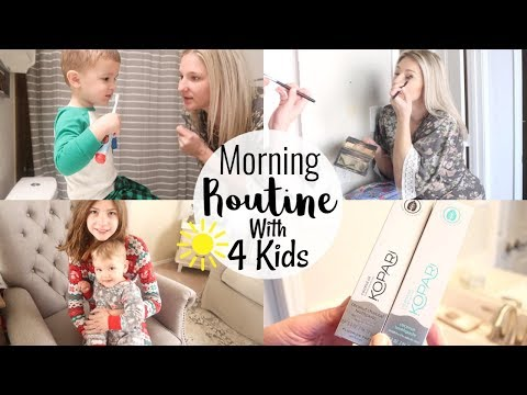 MORNING ROUTINE 2019   MORNING ROUTINE WITH 4 KIDS   BRITTANI BOREN LEACH