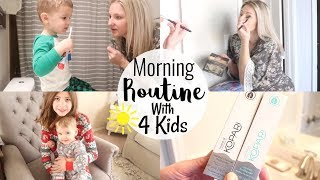 MORNING ROUTINE 2019 | MORNING ROUTINE WITH 4 KIDS | BRITTANI BOREN LEACH