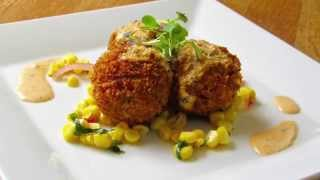New Orleans Style Crab Fritters