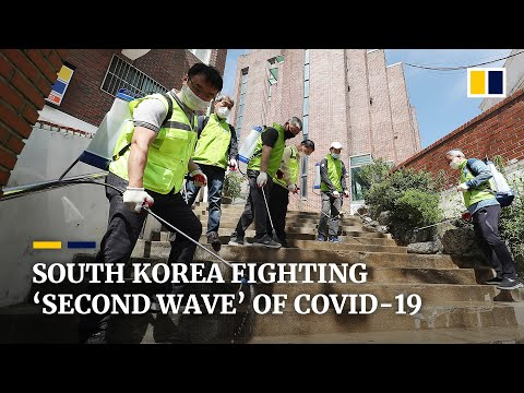 South Korea battling a 'second wave' of coronavirus infections, Seoul health officials say