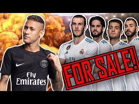 REVEALED: Real Madrid To SELL 4 Superstars To Buy Neymar For €400M!   Transfer Talk