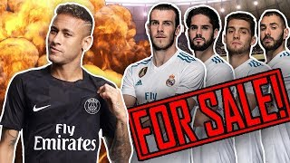 REVEALED: Real Madrid To SELL 4 Superstars To Buy Neymar For €400M! | Transfer Talk
