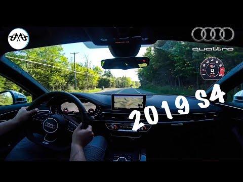 2019 AUDI S4 - POV DRIVE & ACCELERATION