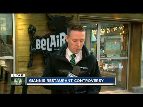 Milwaukee Bucks superstar Giannis Antetokounmpo denied victory dinner at BelAir Cantina