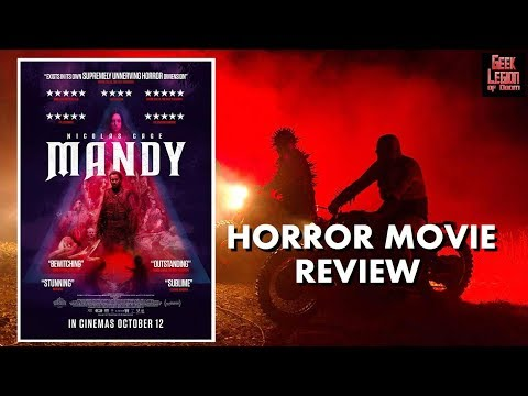 MANDY ( 2018 Nicolas Cage Killer ) Cult Revenge Horror Movie Review