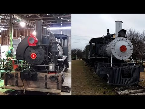 Texas Transportation Museum visit 1/20/18 (Timestamps in Description)