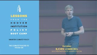 The Climate Policies to Focus On with Bjorn Lomborg (Lessons from Hoover Boot Camp) | Ch 3