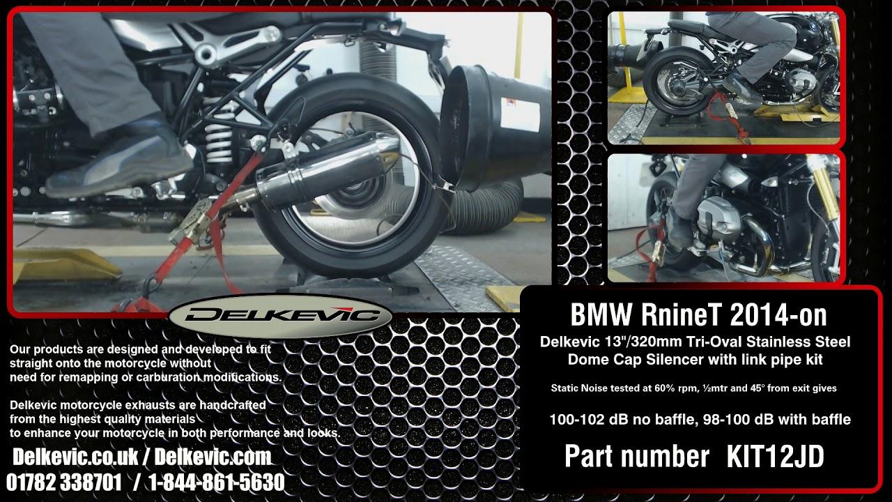 BMW R NINE T 2014-2018 420mm STAINLESS BSAU SILENCER KIT