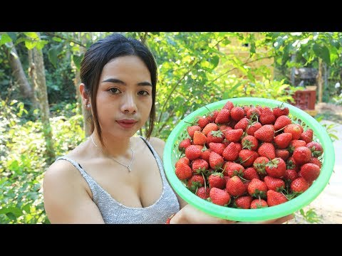 Yummy Cooking Strawberry With Salt Recipe - Cooking Skill