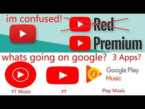 Youtube Red, Premium, Music - What Does It All Mean?