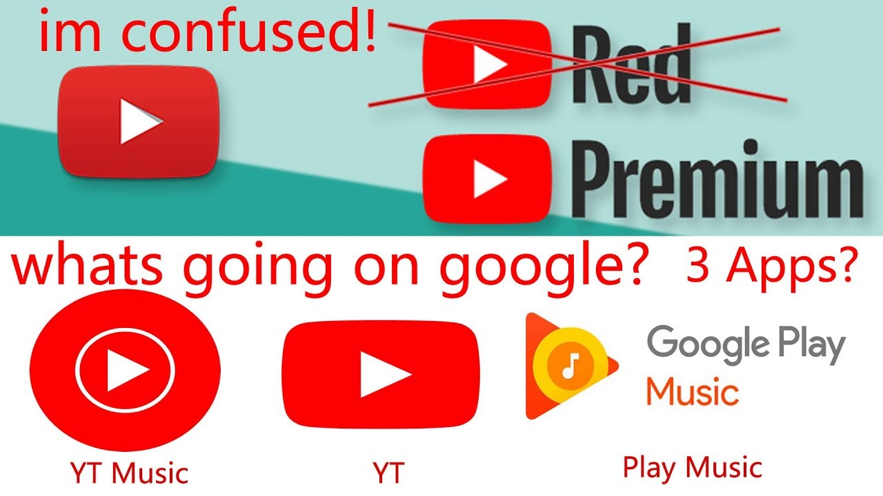 youtube red premium music what does it all mean