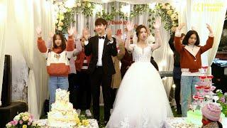 Giới Trẻ Giáo Xứ La Vân cùng cô dâu chú rể với vũ khúc niềm vui hạnh phúc gia đình