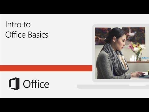 Introduction To Office Basics Training