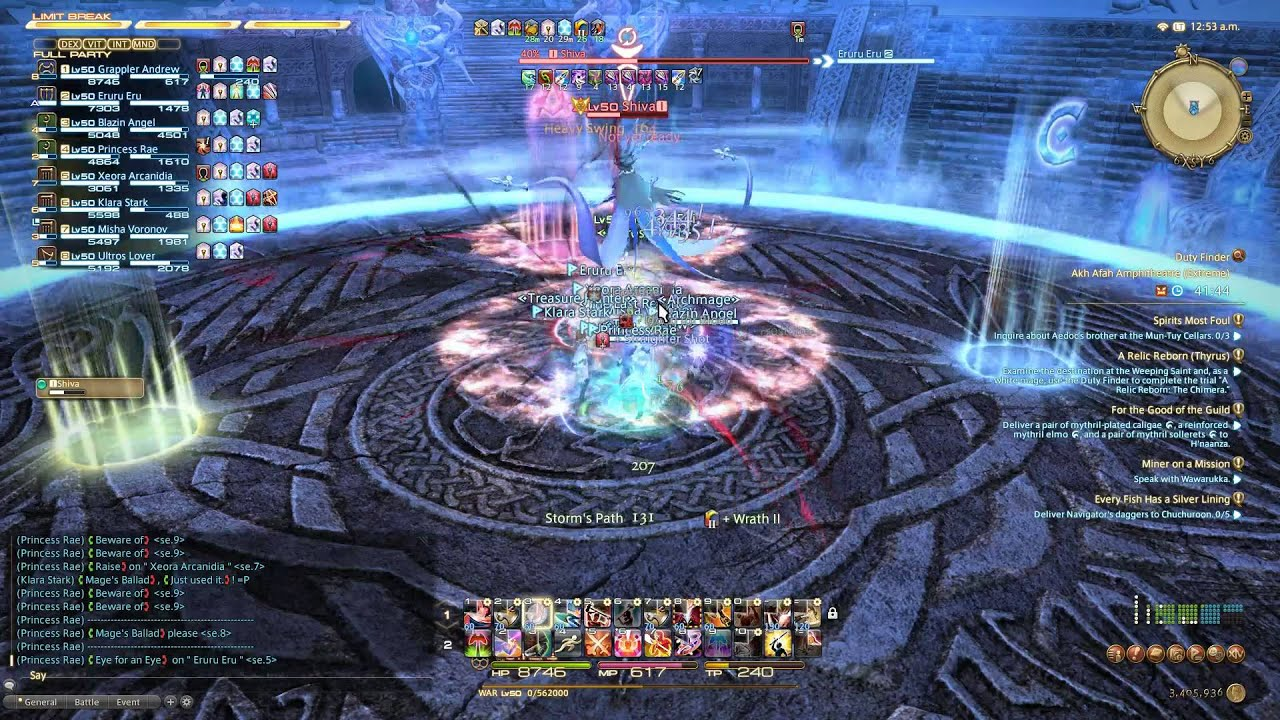 Shiva Ffxiv Teaser - Year of Clean Water