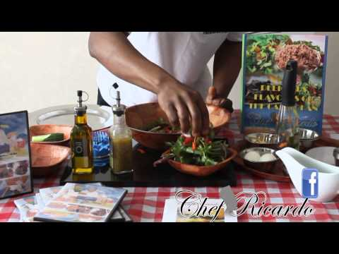 Available Now Chef Ricardo Top Salad Recipe fro your Kitchen