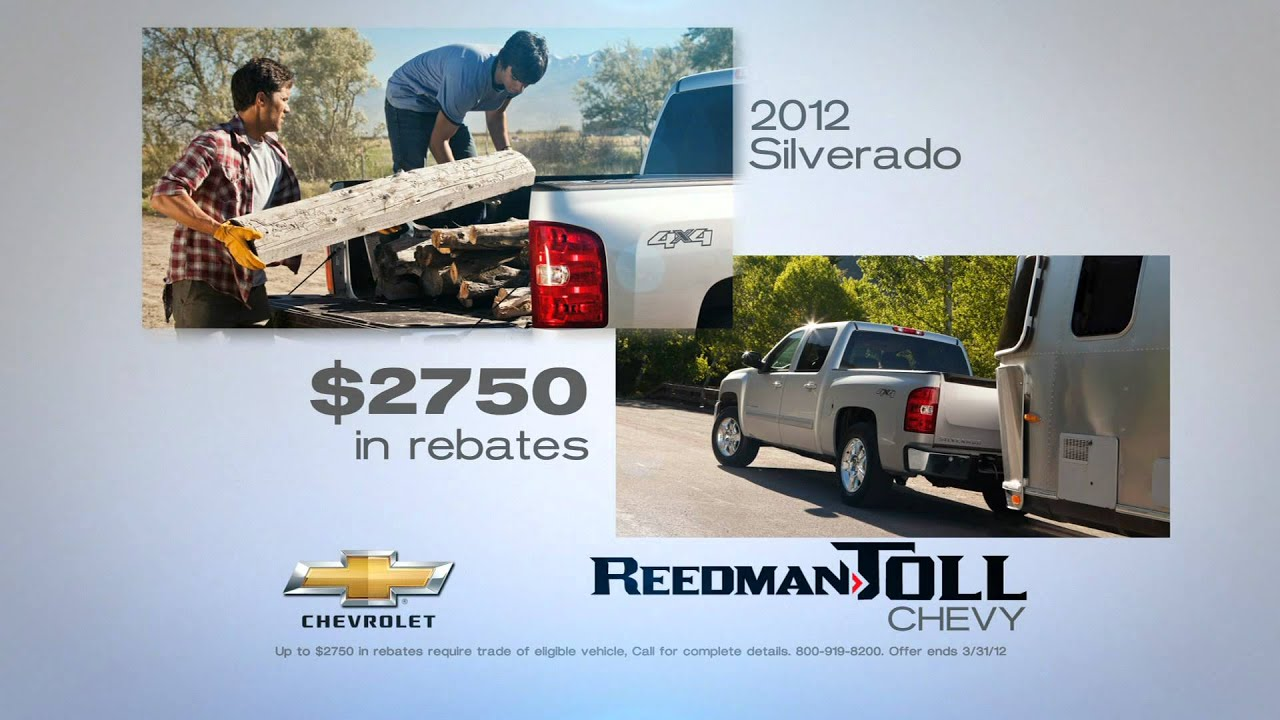Reedman Toll Chevy >> Reedman Toll Chevy 30 March 2012 Proof Youtube