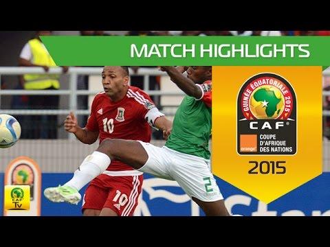 Equatorial Guinea - Burkina Faso   CAN Orange 2015   21.01.2015