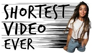 Shortest Video Ever on YouTube