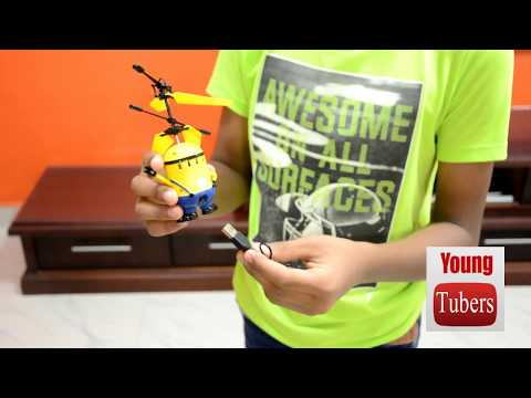 Flying Minion Unboxing  And Testing, Best Toy For Kids