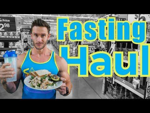 How to Break a Fast - Walmart Grocery Haul for Intermittent Fasting