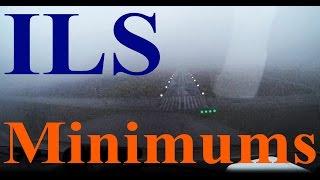 ILS Approach to Minimums   ATC Audio   Cessna 172M