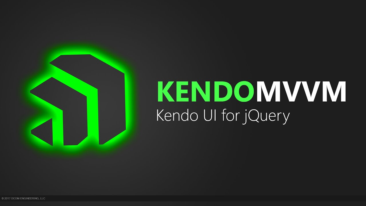 Download Kendo UI for jQuery: Building a base class ViewModel for MVVM
